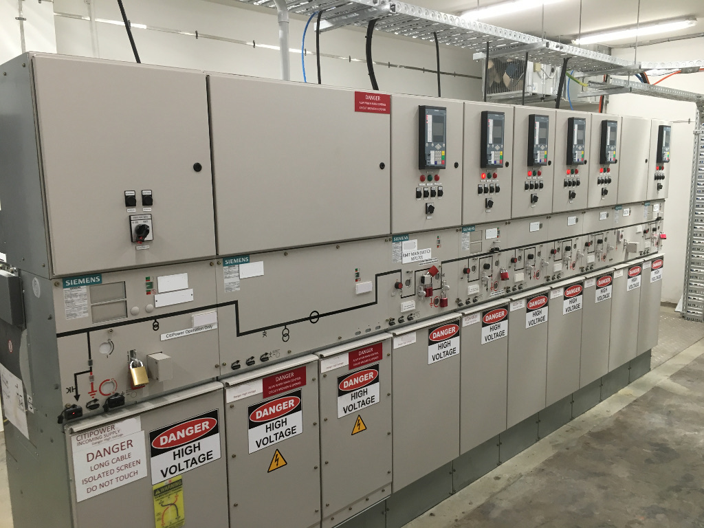 HV operator is commissioning an upgraded high voltage customer switchgear asset